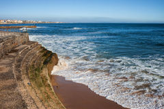 Remblai par l'Océan Atlantique Photographie stock libre de droits