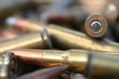 Remboursements in fine de fusil Image libre de droits
