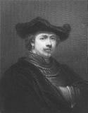 Rembrandt Immagine Stock Libera da Diritti