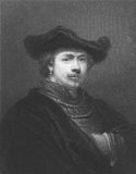 Rembrandt Lizenzfreies Stockbild