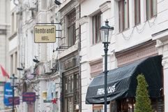 Rembrandt hotel Bucharest Royalty Free Stock Image