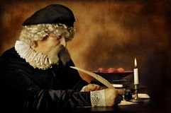 Rembrandt portrait Stock Images
