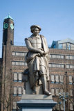 Rembrandt statue, Amsterdam Stock Photography