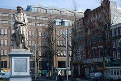 Rembrandt statue, Amsterdam Stock Photos