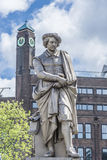 Rembrandt statue in Amsterdam, Netherlands Stock Images