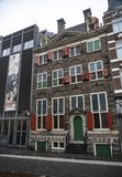 Rembrandthuis dom w Amsterdam obraz stock
