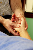 Remedial Massage Hands Stock Images