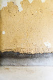 Remediation of concrete wall Royalty Free Stock Photos