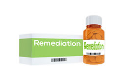 Remediation - medical concept Stock Photo