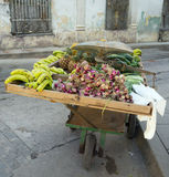 Remedios city, Cuba, fruit market Stock Photos