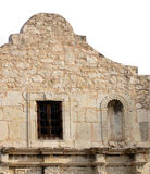 Remember the Alamo. Front facade of the Alamo in San Antonio, Texas Royalty Free Stock Image