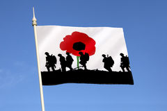 Remember the Fallen Heroes - Poppy Day Stock Photos