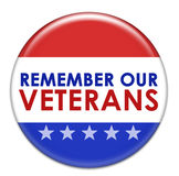 Remember our Veterans icon Royalty Free Stock Photography