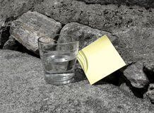 Remember: Post-it note Royalty Free Stock Image