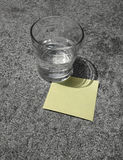 Remember: Post-it note Stock Image