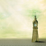 Remember the time. Beatiful background with clock for your work Royalty Free Stock Photography