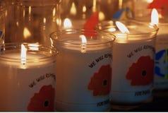 Rememberance Sunday Poppy Day Stock Image