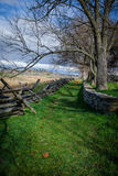 Remembering Antietam. Open fields and wooded trails where Confederate and Union troops fought in Sharpsburg, Maryland Stock Photography