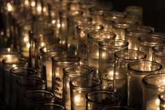 Remembering candles Royalty Free Stock Images