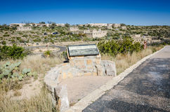 Remembering the CCC - Carlsbad Caverns - New Mexico Stock Photos