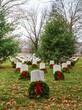 Remembering Fallen American Soldiers DC Royalty Free Stock Photography