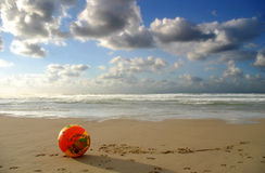 Remembering last summer... Winter on Mediterranean sea, Tel-Aviv, Israel Stock Images