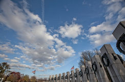 Remembering the Past--World War II Memorial Royalty Free Stock Photos