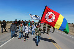 Remembering Wounded Knee Stock Photography