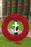 Remembrance Day. (Poppy Day) in London - November 2006 Royalty Free Stock Photo