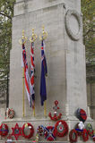 Remembrance Day. (Poppy Day) in London - November 2006 Stock Images