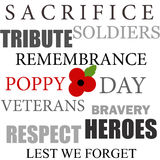 Remembrance day Royalty Free Stock Images