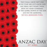 Remembrance Day Royalty Free Stock Photography