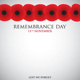 Remembrance Day Stock Images