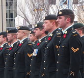 Remembrance Day Ceremony Stock Photos