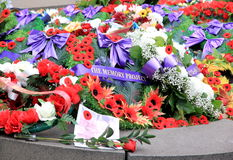 Remembrance Day Memorial Royalty Free Stock Photo