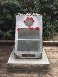 Remembrance Day Memorial. Remembrance Day, Lest We Forget, In Stock Images