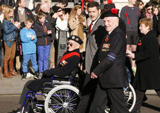 Remembrance Day Parade, 2012 Stock Photo