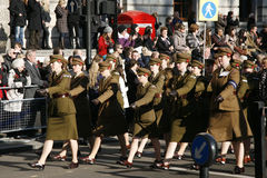 Remembrance Day Parade, 2012 Royalty Free Stock Images