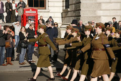 Remembrance Day Parade, 2012 Stock Image