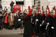 Remembrance Day Parade, 2012 Stock Photography
