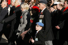 Remembrance Day Parade, 2012 Royalty Free Stock Photo