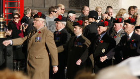 Remembrance Day Parade Royalty Free Stock Photo