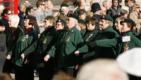 Remembrance Day Parade Stock Photography
