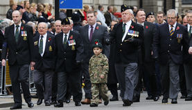 2015, Remembrance Day Parade, London Stock Photo