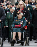 2015, Remembrance Day Parade, London Royalty Free Stock Image