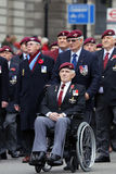 2015, Remembrance Day Parade, London Royalty Free Stock Photo