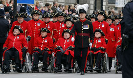 2015, Remembrance Day Parade, London Stock Photography