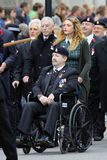 2015, Remembrance Day Parade, London Stock Images