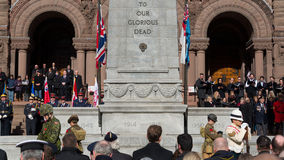 Remembrance Day Service Stock Images