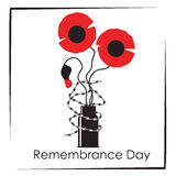 Remembrance day symbol Stock Photo